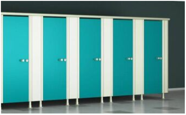Modular Toilet Partition and Commercial Toilet Partitions With Greenlam Sturdo