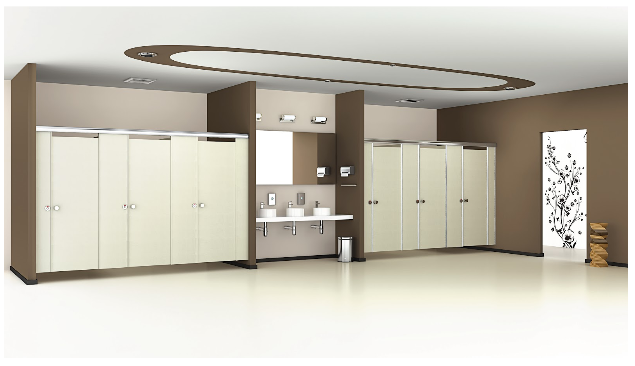 Shower Cubicles and Partitions Design by Greenlam Sturdo
