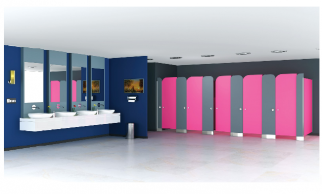 Types of Urinal Partition Material for Commercial Restrooms