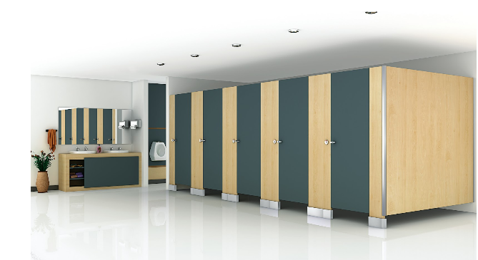 Classic Toilet Cubicles and Partitions by Greenlam Sturdo