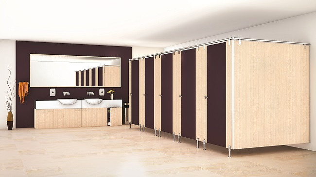 Greenlam Sturdo — Restroom Cubicles and Locker Solutions