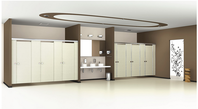 Bathrooms Partitions and Cubicles in India from Greenlam Sturdo