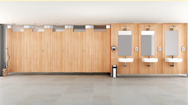 Restroom partitions and cubicles in India | Greenlam Sturdo