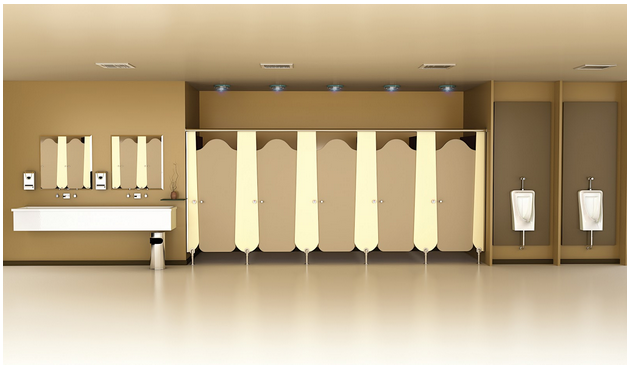 Bathroom cubicles and partition in India from Greenlam Sturdo
