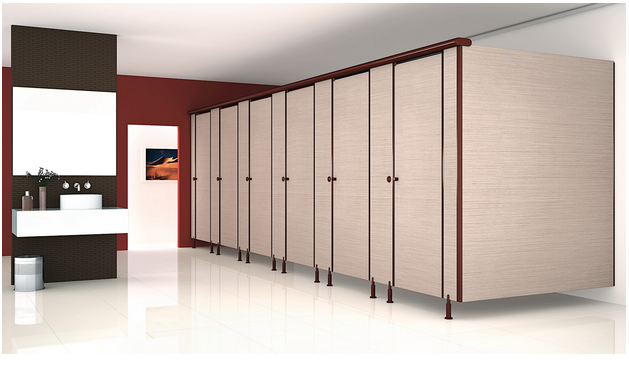 Toilet cubicles and partition materials from Greenlam Sturdo