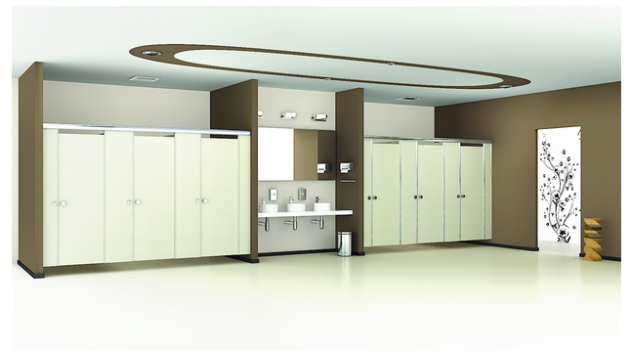 Toilet cubicles and partition in India from Greenlam Sturdo