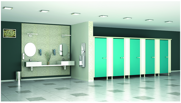Toilet Cubicles for Commercial Establishments in India
