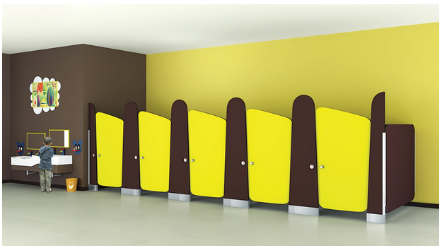 Kids toilet cubicles in India from Greenlam Sturdo