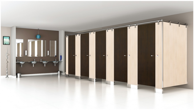 Bathroom partition & cubicles in India from Greenlam Sturdo