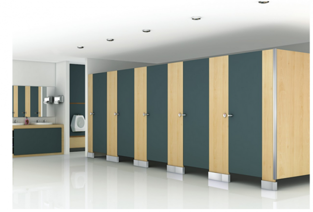 Toilet Partitions in India from Greenlam Sturdo