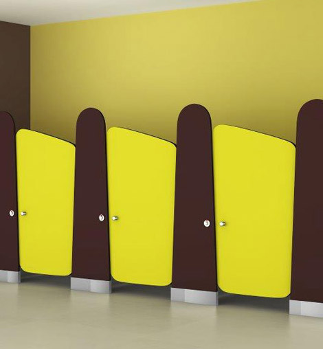 Kiddie World Kids Toilet Partitions in India