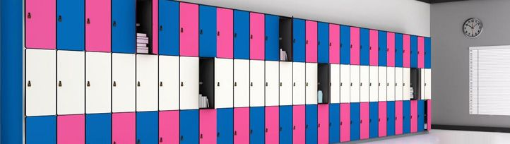 Three tier lockers in India