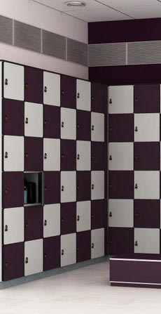 Locker System For Sauna Rooms