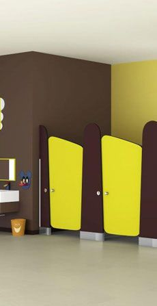 Bathroom Cubicles for Kids