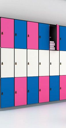Locker System for Fitness Clubs