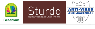 Greenlam Sturdo — Restroomroom Cubiles and Ldocker Manufacturer